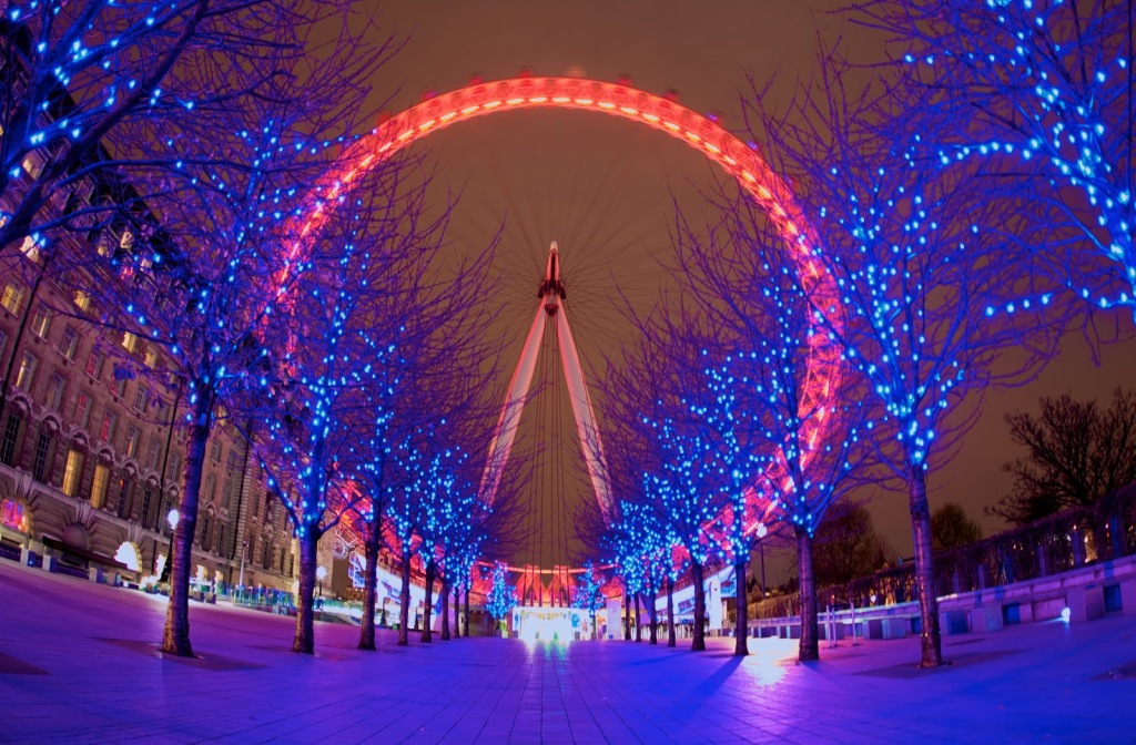 (RED) London Eye